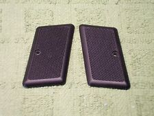 Custom Grips for AMT 380 Backup OEM Style (Double Action) Black