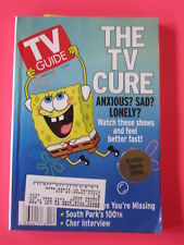 SPONGEBOB SQUARE PANTS TV GUIDE april 5 - 11,  2003 South Park Cher interview