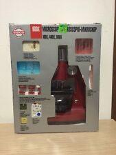 Microscopio 900X Zoom Con Kit Tasco Discovery Workshop Con Scatola