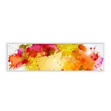 Wechsel Scheibe passend für IKEA Gyllen 95cm Wandleuchte Lampen Farbkleckse edel
