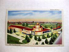 1939 New York World Fair Postcard Cosmetics Building