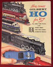 A.C. Gilbert HO Train Catalog 1957 D2031