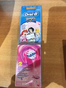 oral-b stages power kids aufsteckbürsten Disney Prinzessinnen