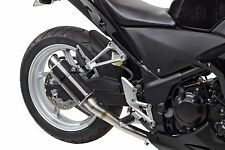 2011-2014 CBR250R MGP Carbon Fiber Exhaust Slip On 2012 2013 Hotbodies Racing