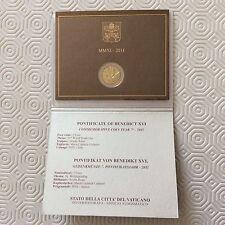 Coffret de 2 € commémoratif Vatican 2011