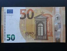 N2 Europe SPAIN 50 Euro 2017, VA-serie UNC, Draghi Sign, Printer V001F4