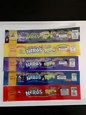Nerds Ropes Medicated Empty Packaging Bags - 100 pcs pack