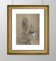 SIMONE BLANC-DEROCQUE (1903-2000) SUPERBE NU FEMININ VERS 1930 (28)