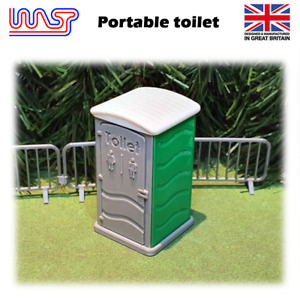 Portable Toilet Green Slot Car Track Scenery x 1 New 1:32 Scale WASP