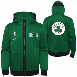 Nike NBA Youth (8-20) Boston Celtics Lightweight Hooded Full Zip Jacket