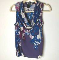 Ann Taylor Women's Sleeveless Top Size XS Cowl Neck Casual Work Career Business
