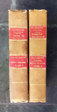Silius Italicus Lemaire Collectio auctorum classicorum latinorum 2 T. complet