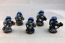 Warhammer Space Marine Ultramarines Devastators Well Painted