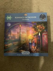 Gibsons - 1000 PIECE JIGSAW PUZZLE - Romance On The River Thames .