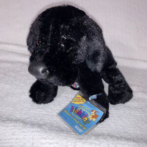 Webkinz Ganz BLACK LAB Stuffed Animal HM136 CODE?? Unsure