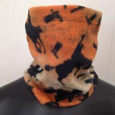 Fleece Tube Style Winter Scarf Cowl Neck Warmer Gaiter Horse Pattern