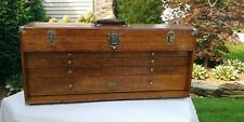 Vintage Gerstner pattern makers chest model O44 with one key.