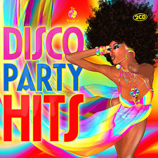 CD disco party hits de various artists 2cds