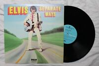 Elvis Presley, Separate Ways, Vinyl LP, RCA Camden, 33rpm, Blue Label