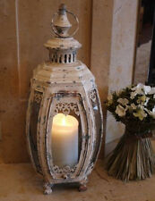 Vintage Distressed Carriage Lantern Porch Light Candle Holder HOME GARDEN new