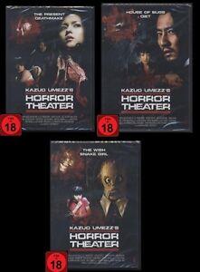 DVD HORROR THEATER 1 + 2 + 3 - KAZUO UMEZU - JAPAN-HORROR *** NEU ***
