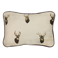 BROWNING WHITETAILS DECORATIVE BEDDING BUCK THROW PILLOW - DEER BEDDING