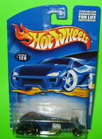 Hot Wheels Hammered Coupe Collector #120 PR5s Blue Car Mint on 2001 Card 50650
