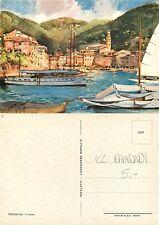Portofino - Il Porto - ILLUSTRATORE RAIMONDI (S-L XX174)