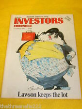 INVESTORS CHRONICLE - LAWSON KEEPS THE LOT - MARCH 17 1989