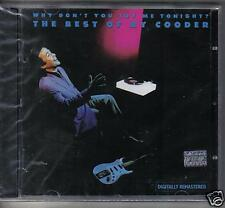 THE BEST OF RY COODER  - WHY DON'T YOU TRY ME TONIGHT - CD