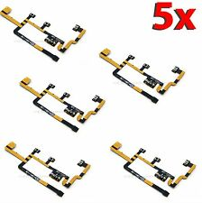 5x Lot Power On Off Switch Mute Volume Button Flex Cable for iPad 2 CDMA b28