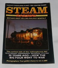 STEAM RAILWAY MAGAZINE  SEPTEMBER 1989 - 5O YEARS AGO