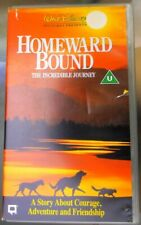 Homeward Bound 'the incredible journey' Vhs