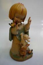 """Anri """"Talking To Animals"""" 6"""" Figurine By Ferrandiz Near Mint Store Display"""