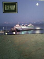 GIANT POST CARD  WASHINGTON STATE FERRIES  VINTAGE EDMOND'S WASHINGTON
