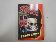 SIGNED Nightmare in Darkness by Fredric Brown (1987, McMillan) #83/425! LOOK!