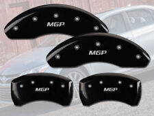 "2007-2011 Toyota Camry Front + Rear Black ""MGP"" Brake Disc Caliper Covers 4p Set"