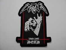 MORBID DEAD  1969-1991   EMBROIDERED PATCH