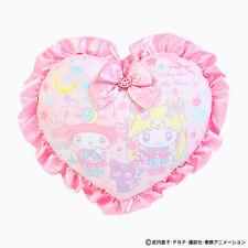 Sanrio Japan Sailor Moon My Melody Cushion Heart Kawaii NEW F/S