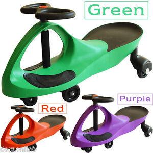 Kids Children Toddler Ride On Toys Swing Twist Car Red/Purple/Green