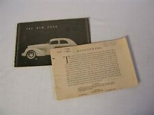 Cord L29 Shop Manual 1929 1930 1931 1932 L-29 Repair Service Book with Bulletins