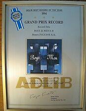 Boyz II Men ADLIB Japan Magazine Best Record of Year 1994 Award