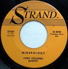CHRIS COLUMBO QUINTET 45 Minerology / Summertime VG++ Killer BOP JAZZ 1961 e1387