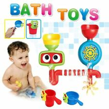 deAO Bath Water Toy Watermill Pipes Bath-time Fun Playtime for Baby and Toddler