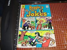 REGGIE'S Wise Guy JOKES #36 Archie Comics - January 1976 Archie Veronica Cover