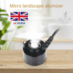 24V Ultrasonic Mist Maker Fogger Water Fountain Pond Atomizer Air Humidifier