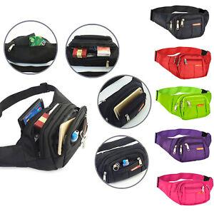 Fanny Pack For Men Women Belt Waist Bag body Sling Shoulder Travel Sport Pouch