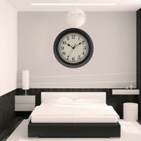 30cm 12-inch Silent Sweep Round Wall Clock, for Living Room Kitchen Office PICK