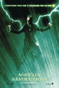 Matrix - Revolutions Poster 68,5 x 98 cm Plakat Wanddeko Deko