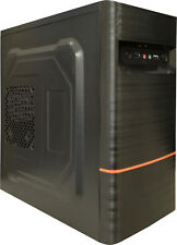 DYNAMODE LOCKSTOCK LM-GC05 mATX PC CASE WITH USB 3.0 & BRUSHED STEEL FINISH